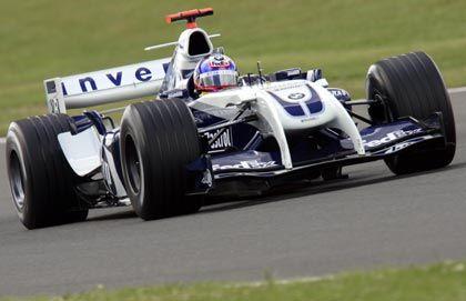 Juan Pablo Montoya in Silverstone: Der Kolumbianer ist skeptisch, ob sich BMW in dieser Saison noch verbessert
