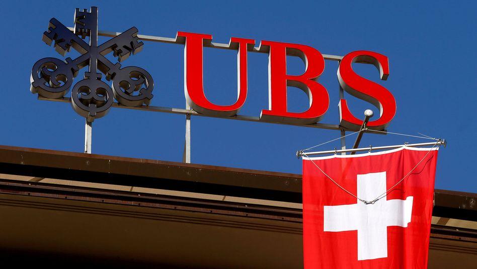 Die Geschäfte der Schweizer Großbank UBS schwächeln zu Jahresbeginn