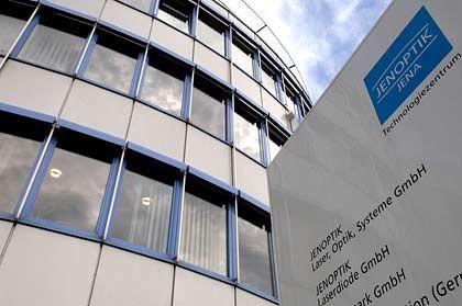 Mit neuem Vorstand: Jenoptik-Gebäude in Jena