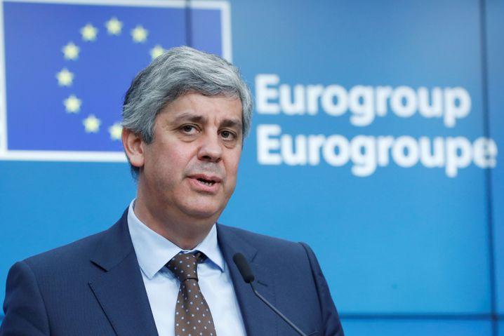 """Euro-Gruppenchef Mario Centeno: """"Im Grundsatz ist man sich schon einig"""""""
