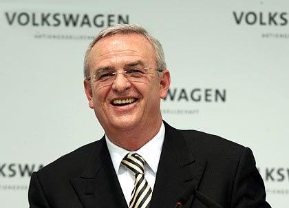 Schon mehr als drei Millionen Volkswagen im laufenden Jahr ausgeliefert:Konzernchef Winterkorn