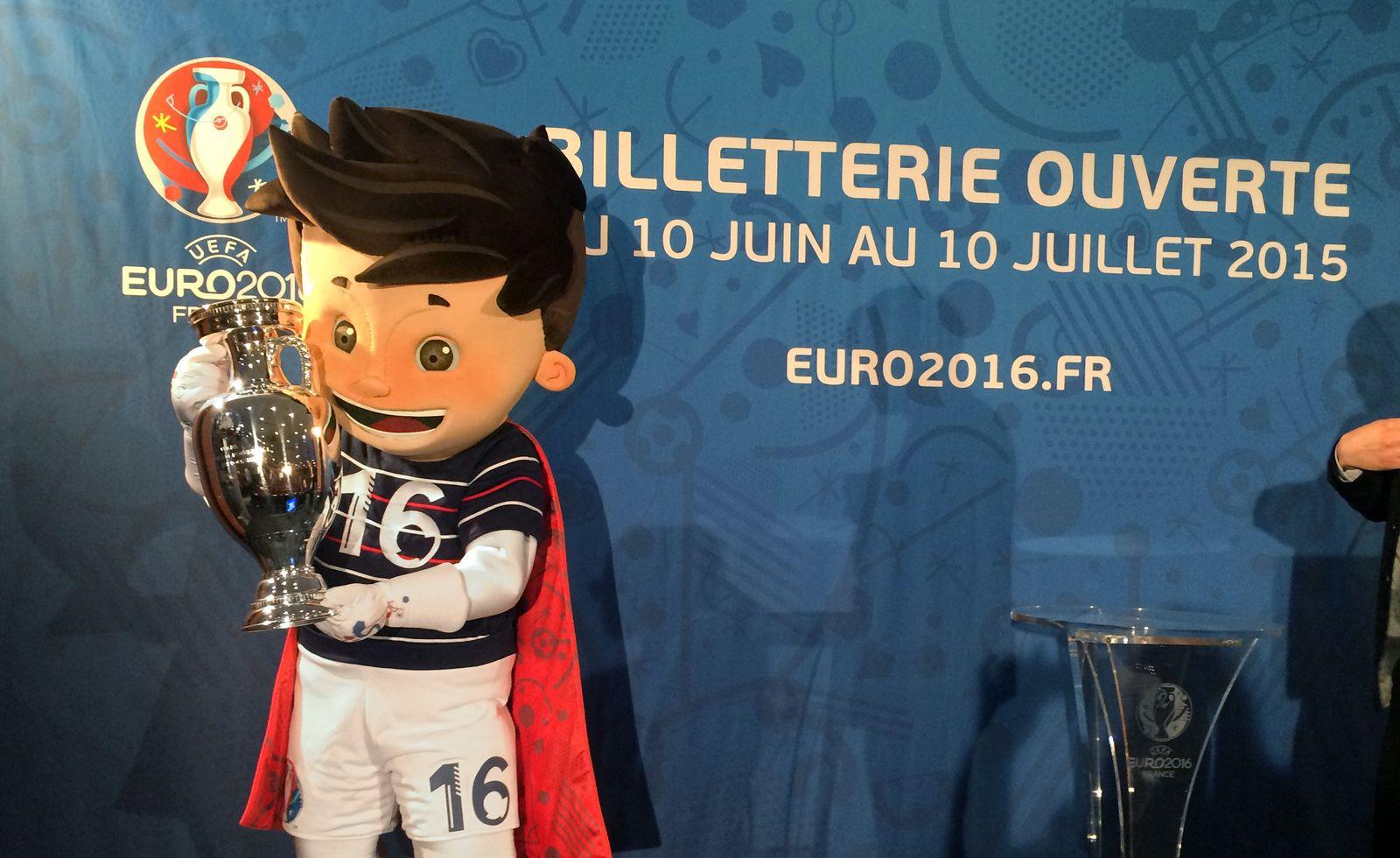 Präsentation Ticketing für EURO 2016