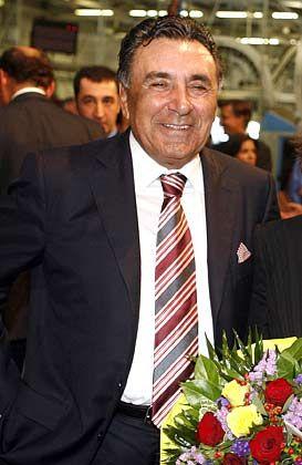 Will den größten TV-Konzern Deutschlands: Aydin Dogan, Chef des türkischen Medienkonzerns Dogan Yayin