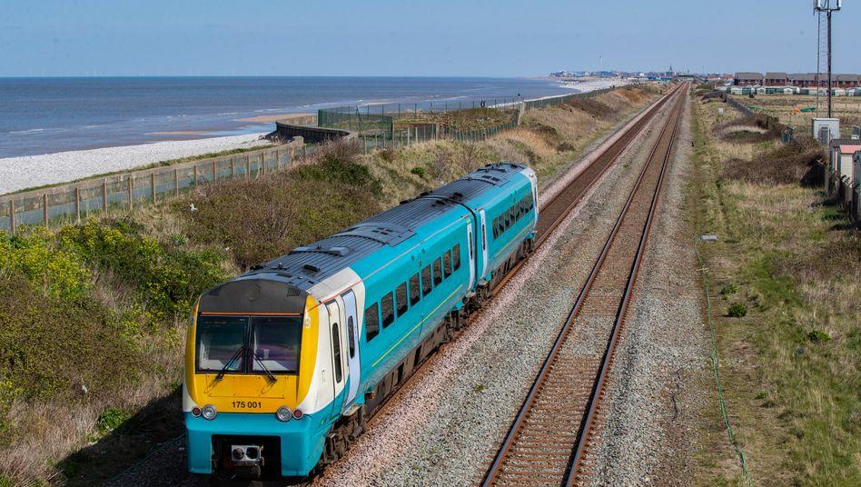 Arriva-Zug in Großbritannien: Wegen schlechten Services droht dem Unternehmen auf der Insel ein Lizenzentzug.