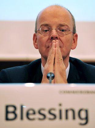 """Commerzbank-Chef Blessing: """"Die Gefahr einer Kreditklemme wächst"""""""