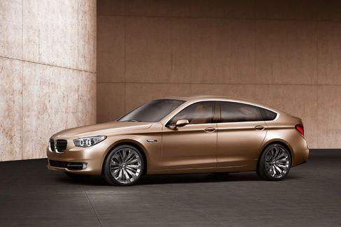 Markante Linien: Beim neuen BMW Concept 5er Gran Turismo haben die Designer von innen nach außen gedacht