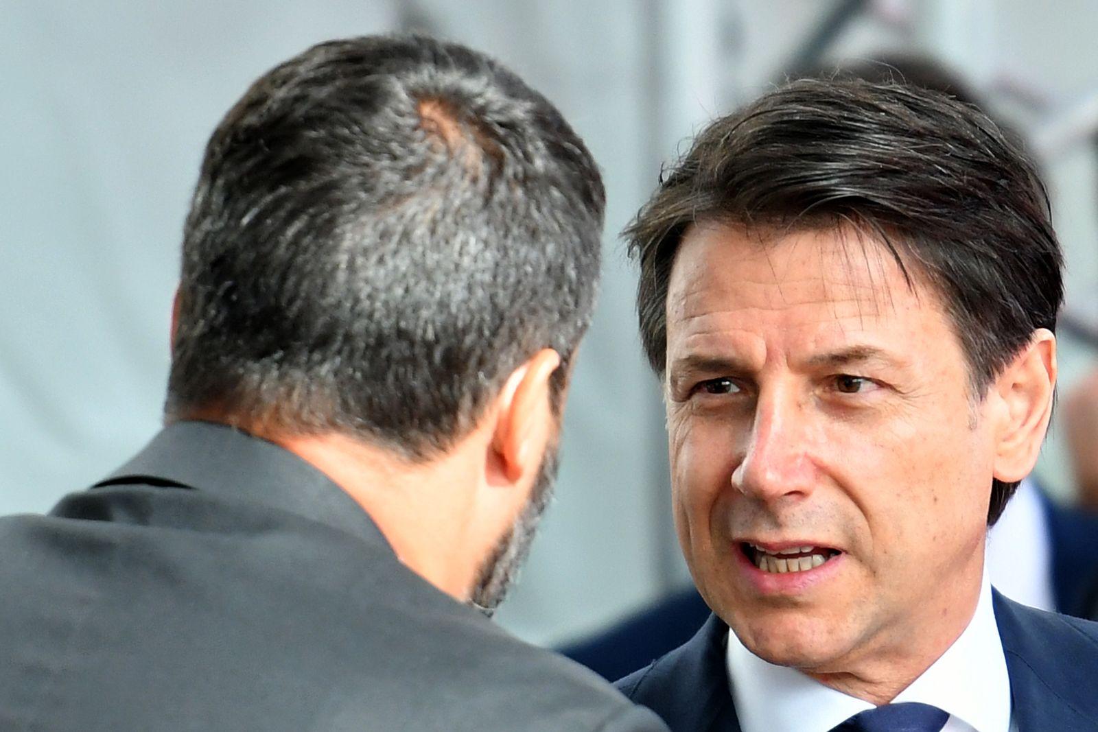 Matteo Salvini/ Giuseppe Conte