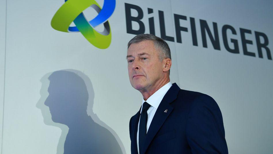 Und plötzlich weg: Bilfinger-Chef Thomas Blades legt sein Amt mit sofortiger Wirkung nieder