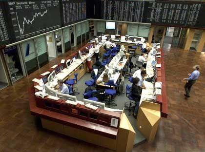 Börse in Frankfurt: Die einseitige Steuer auf Gewinne dürfte vor allem Kleinanleger vertreiben