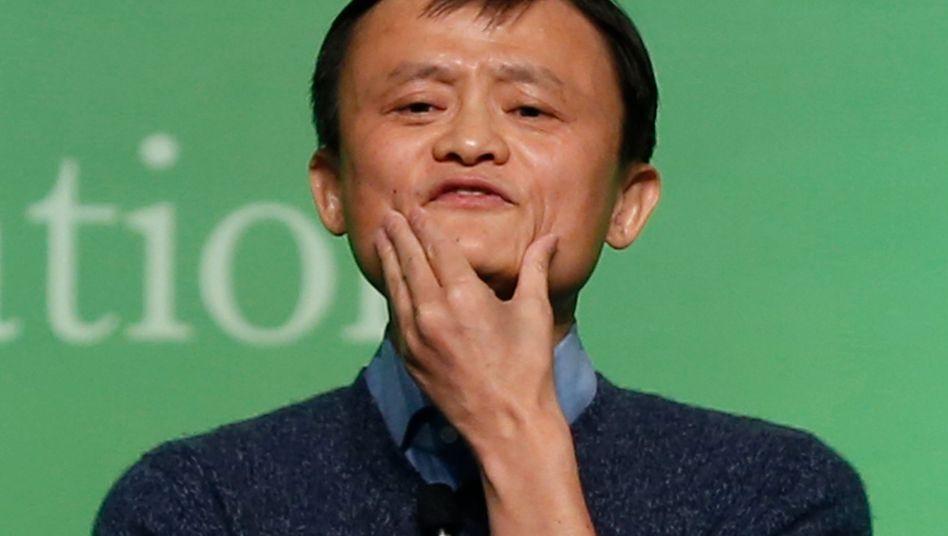 Kontrolliertes Luftablassen: Jack Ma versucht die Erwartungen an Alibaba zu senken