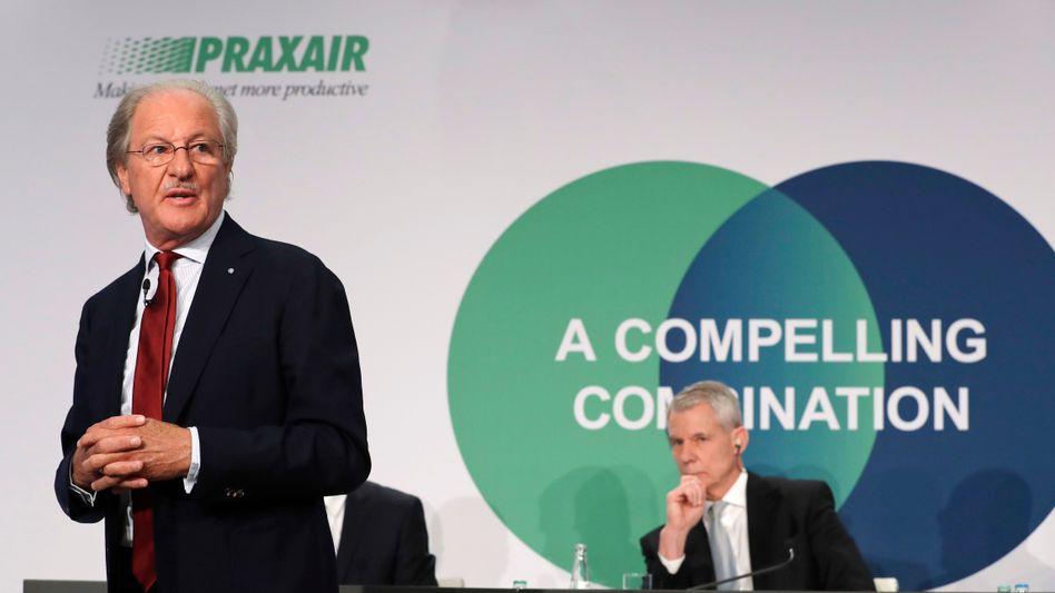 Setzen verstärkt auf Wasserstoff: Linde Chairman Wolfgang Reitzle (l.) und Vorstandschef Steve Angel