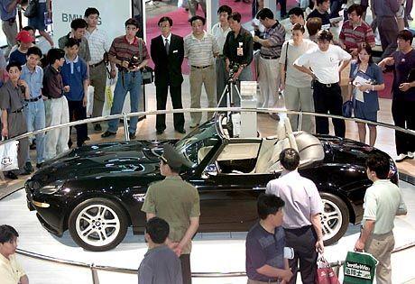 Wachstumsmarkt: BMW-Z8-Präsentation in China
