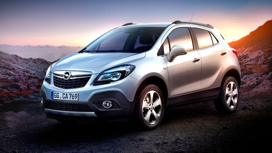 Der Klein-SUV Opel Mokka ist derzeit der größte Hoffnungsträger der Opelaner