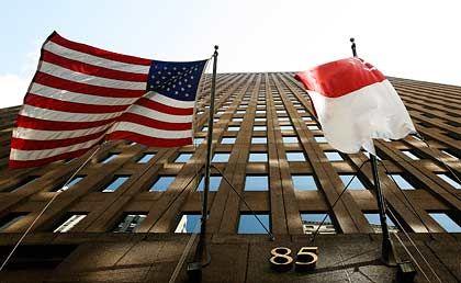 Gute Zahlen: Goldman Sachs in New York ist wieder dick im Geschäft