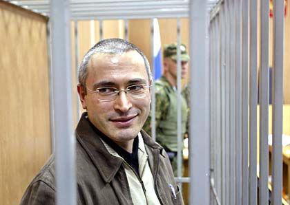 Bereits jetzt in Haft: Michail Chodorkowski