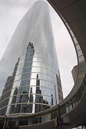 Glanz, der nicht wiederkehrt: Die Enron-Zentrale in Houston