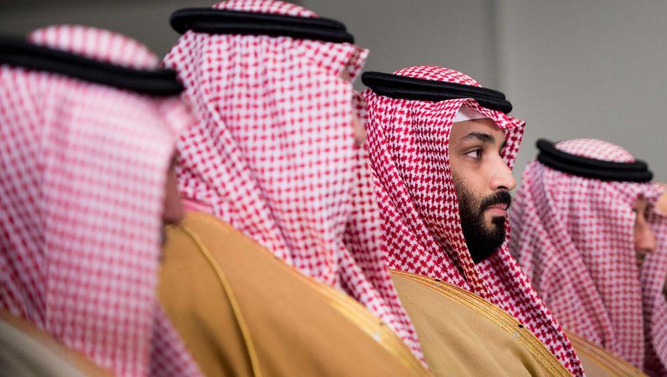 Vision und Wirklichkeit: Kronprinz Mohammad Bin Salman, kurz MBS.