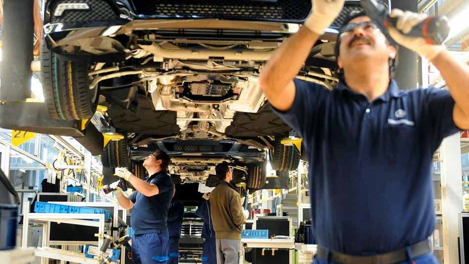 Der Gewinn steigt wieder: Und Daimlers Mitarbeiter profitieren davon