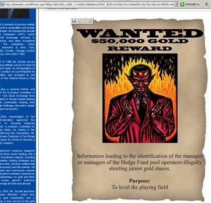 Gefährliche Zocker: Internetseite über Shortseller
