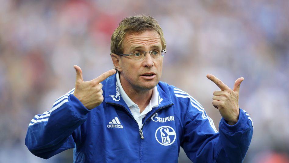 """Schalke-Trainer Rangnick: """"Nach langer und reiflicher Überlegung bin ich zu dem Entschluss gekommen, dass ich eine Pause brauche"""""""