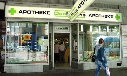 DocMorris-Filiale in Saarbrücken: Die Apotheke wurde auf richterliche Anordnung geschlossen