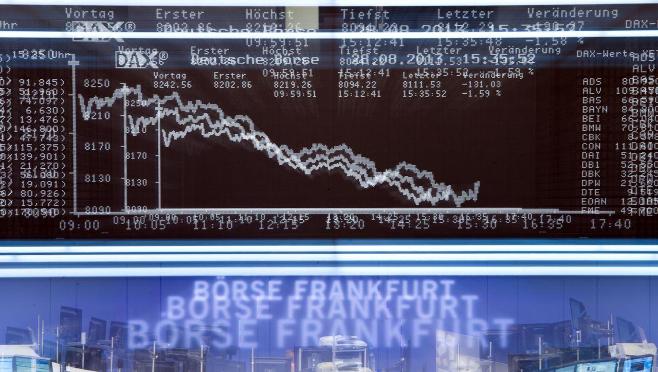 Börse: Dax schließt knapp unter Rekordhoch - manager magazin