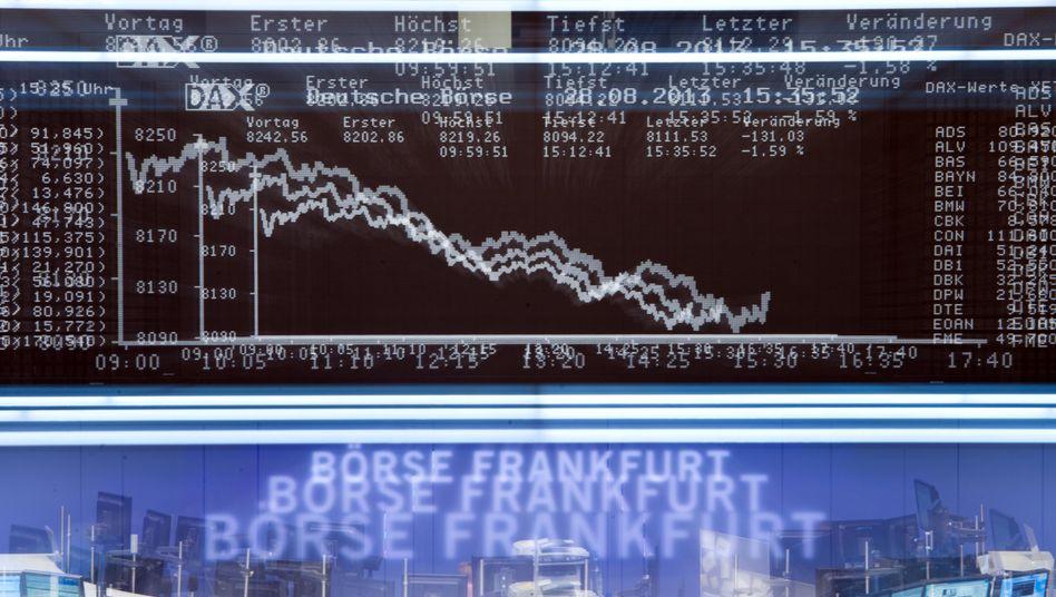 Blick in den Handelssaal der Deutschen Börse in Frankfurt am Main: Geringere Unterstützung für das Deutsche Aktieninstitut