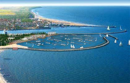 """Nobelherberge: Direkt am neuen Yachthafen in Warnemünde liegt die """"Hohe Düne"""""""