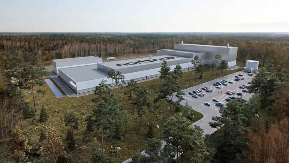 """Pilotprojekt: Die erste Batteriezellfabrik baut Northvolt in Nordschweden. Die zweite Fabrik """"Northvolt Zwei"""" soll dann in Salzgitter entstehen. VW und BMW sind an Bord"""