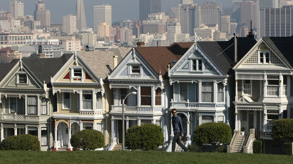 Wohnhäuser in San Francisco: Die Preise steigen trotz Krise rasant