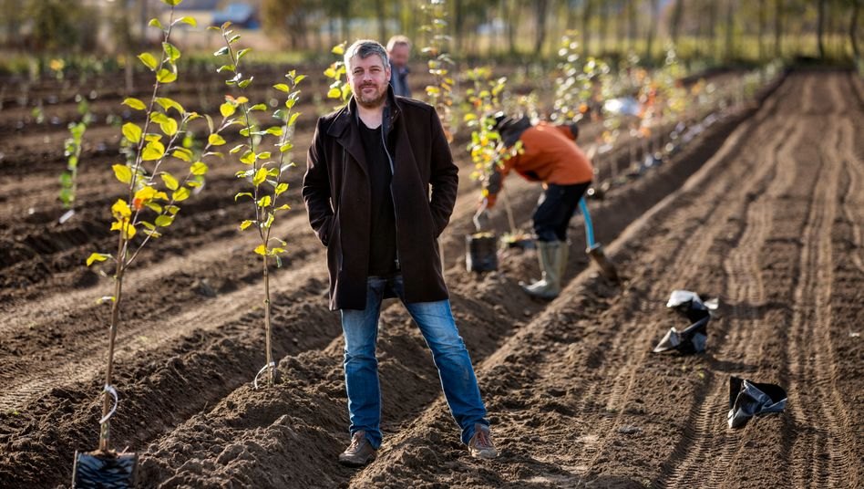 Feldforscher: Der Norweger Andreas Sundgren Graniti hat festgestellt, dass man Eiswein auch aus Äpfeln machen kann