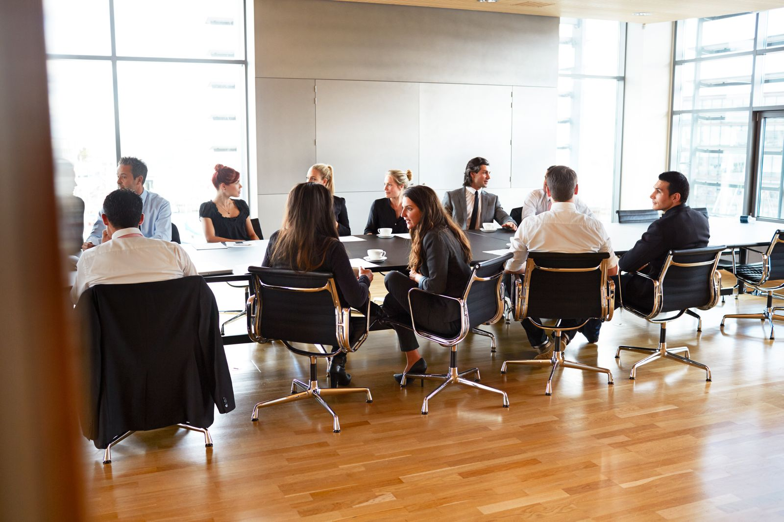 EINMALIGE VERWENDUNG Business Meeting / Konferenz