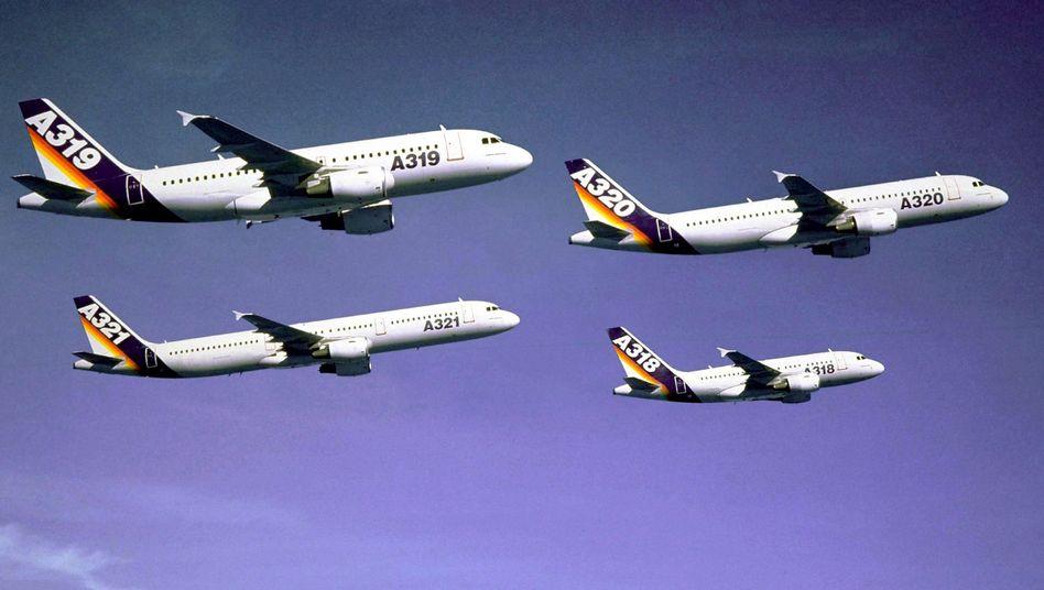 Deutsch-französischer Stolz: Die EADS-Tochter Airbus hat in 2010 ihren Platz als Weltmarktführer vor Boeing festigen könnten. Die gemeinsame deutsch-französische Mehrheit an dem Airbus-Mutterkonzern könnte jetzt aus dem Gleichgewicht geraten, weil EADS-Großaktionäre sich von ihren Anteilen trennen wollen.