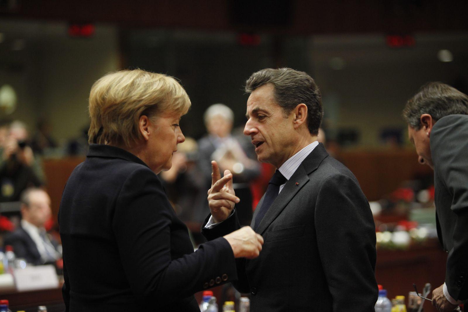 Merkel/ Sarkozy