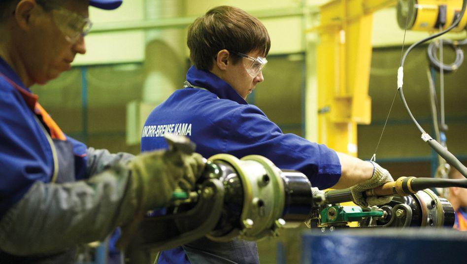 Fertigung in Russland bei der Knorr-Bremse AG