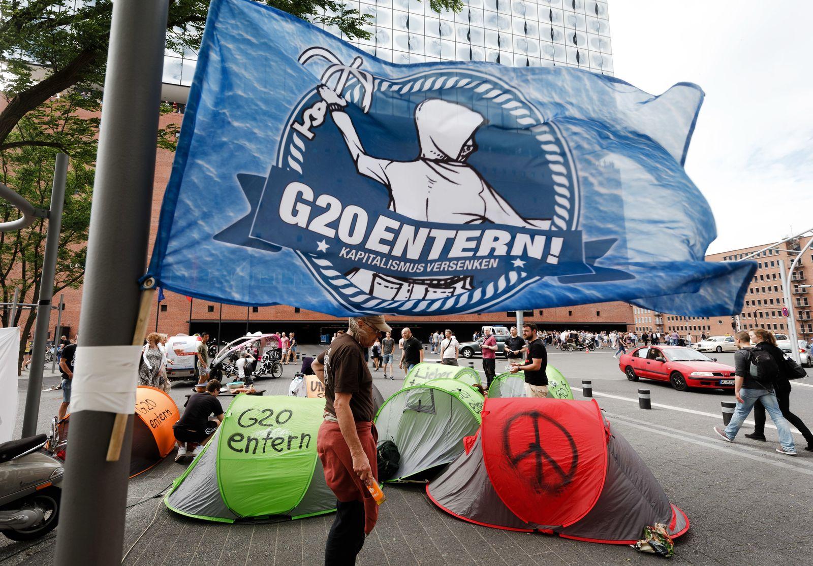 G20 Protestplakate