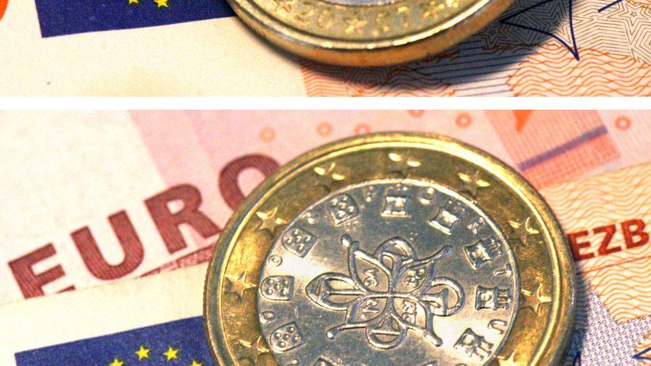 Devise in der Krise: Europas Gemeinschaftswährung steht unter Druck