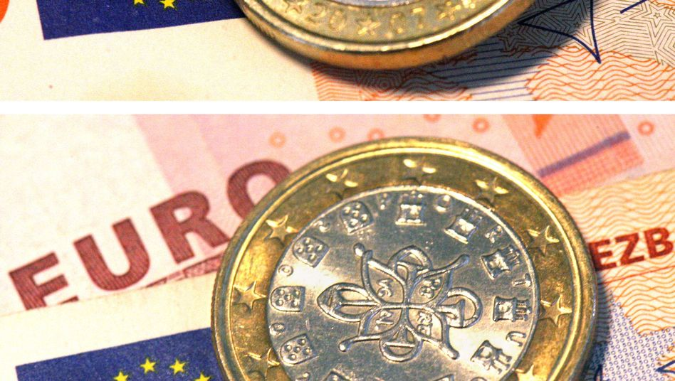 Portugiesische Euro-Münze: Harte Sparvorgaben aus Brüssel