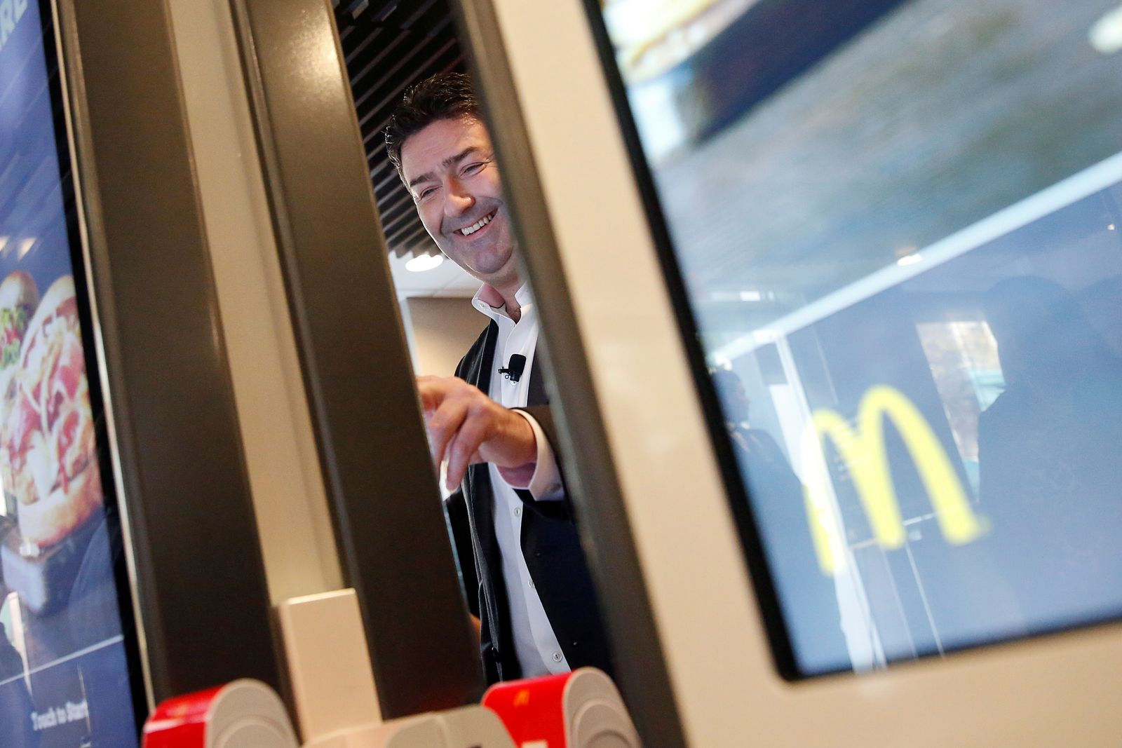 McDonalds CEO Steve Easterbrook