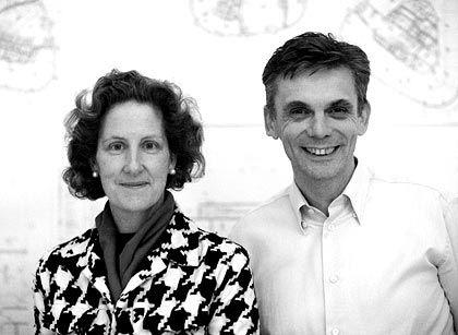 Deutsch-britisches Dreamteam: Das Architektenduo Louisa Hutton und Matthias Sauerbruch