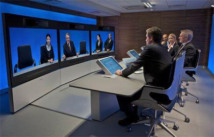 Tandberg: Das norwegische Unternehmen ist auf Systeme für Videokonferenzen spezialisiert
