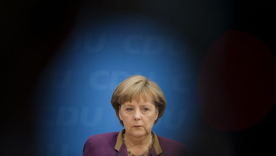 Merkel: Hat sie Präsident Papoulias eine Volksabstimmung über den Euro vorgeschlagen?