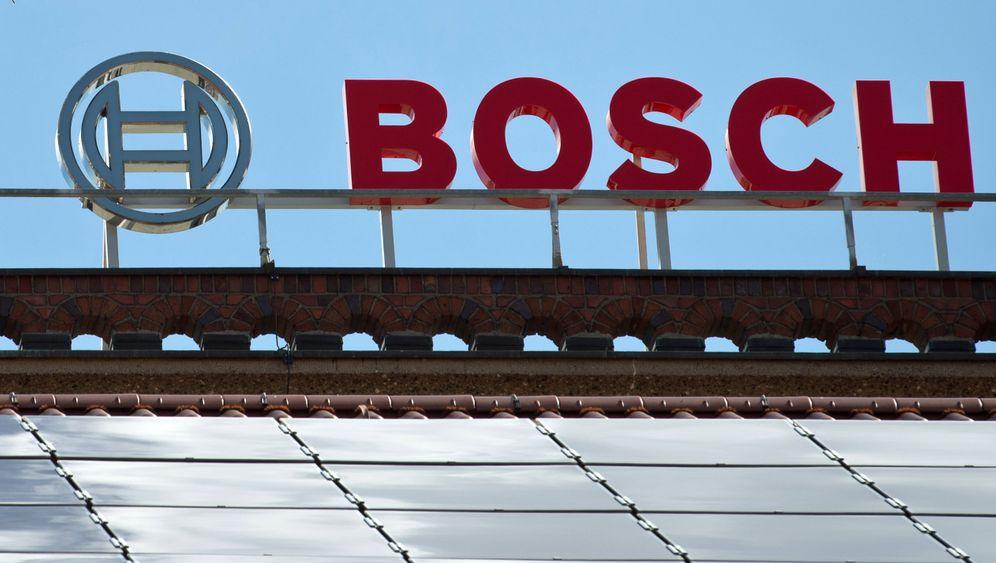 Bosch in Bamberg: Werk gerät in Flammen