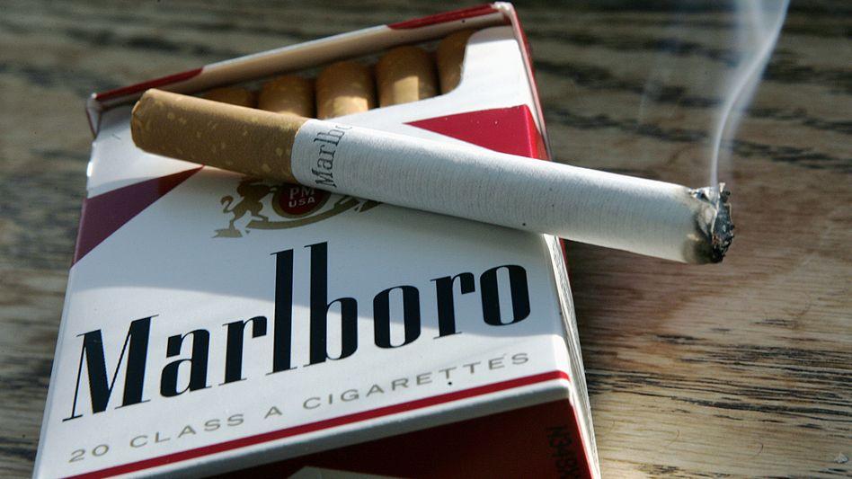 Auf dem Rückzug: Der Tabak-Riese Philip Morris will klassische Zigaretten seiner Marken Marlboro und Co aus britischen Verkaufsregalen verbannen und sein Geld verstärkt mit angeblich weniger gesundheitsschädlichen Produkten verdienen