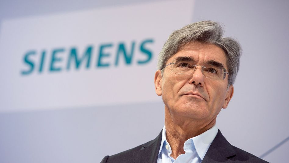 """Siemens-Chef Joe Kaeser: """"Wir haben ein starkes Quartal geliefert und sind mit der Umsetzung unserer Vision 2020 auf gutem Weg"""""""