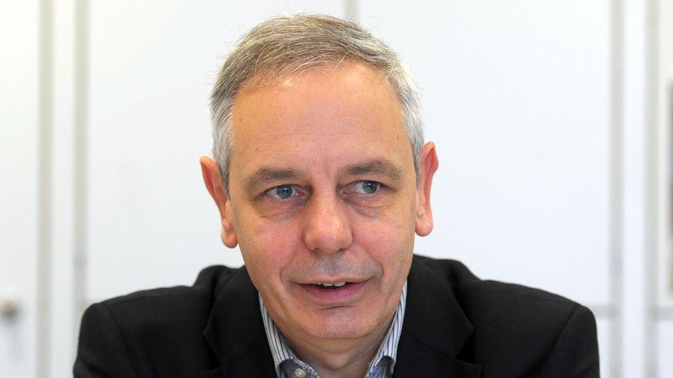 Michael Vassiliadis, Chef der Industriegewerkschaft Bergbau, Chemie, Energie, sorgt sich um die Beschäftigten beim Eon-Konzern