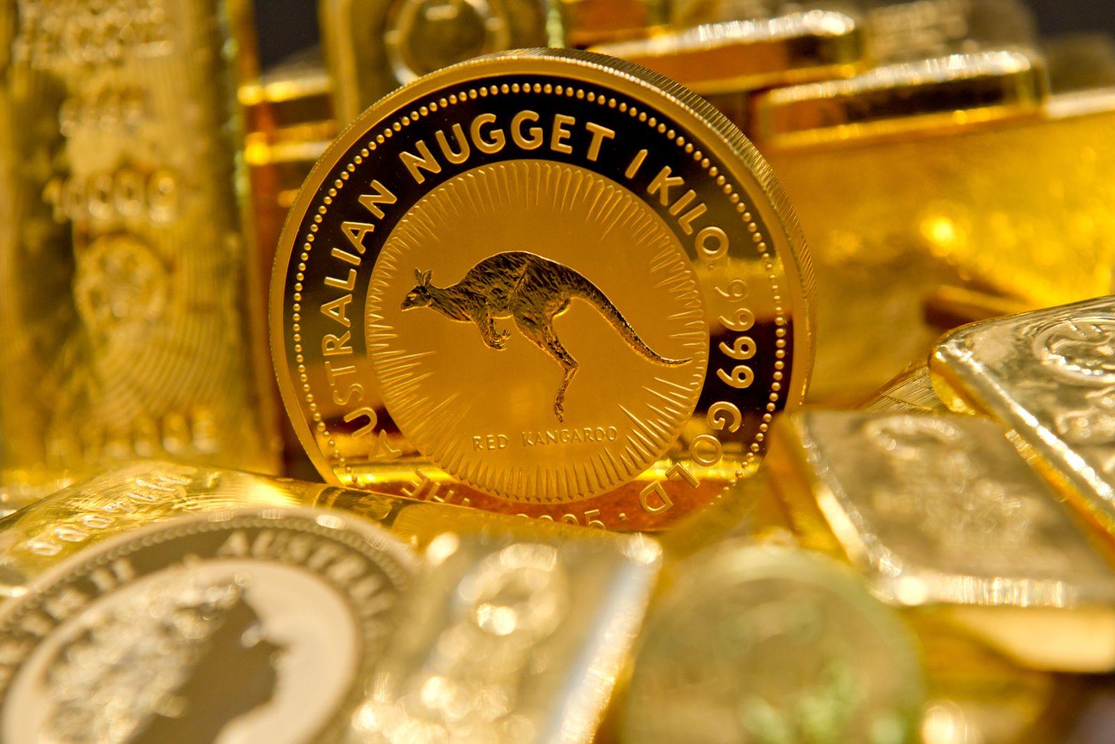 Gold / Goldmünzen / Goldpreis