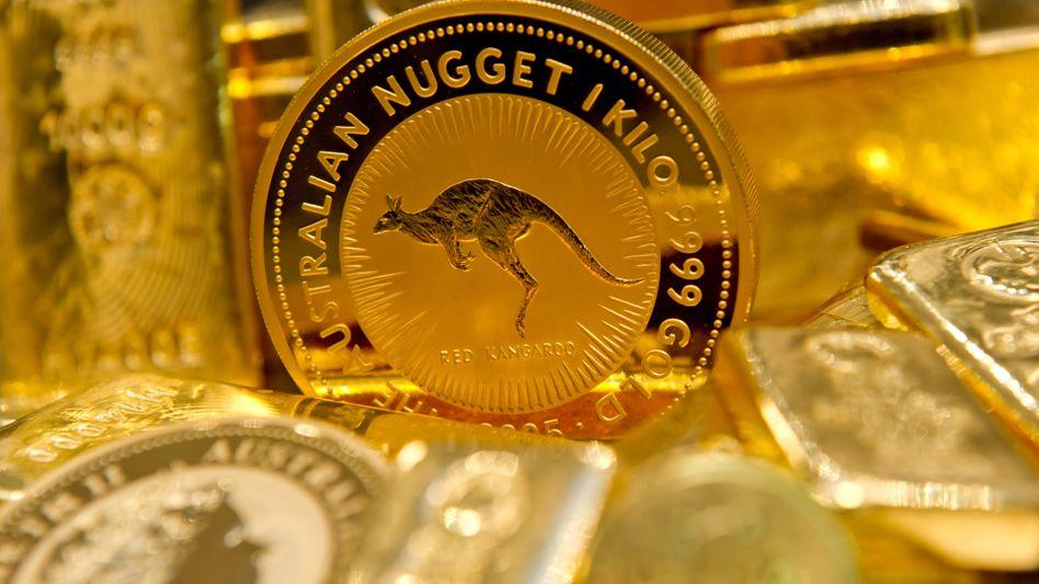 Begehrter Glanz: Gold verfügt über zahlreiche Fans am Geldanlagemarkt.