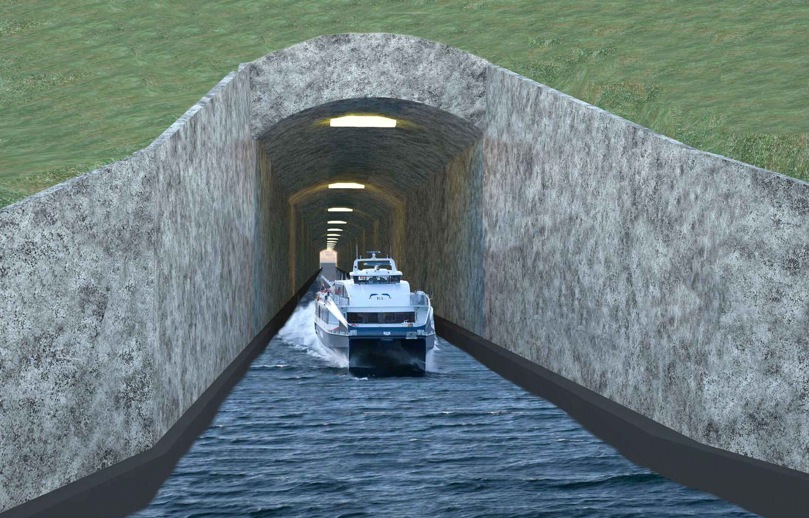 Schiffstunnel / Norwegen