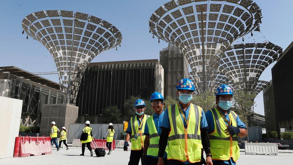 Expo-2020-Baustelle in Dubai (Archivaufnahme, Oktober 2019)